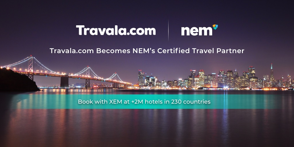 Travala.com Partners with NEM Foundation | Official Travala.com Blog