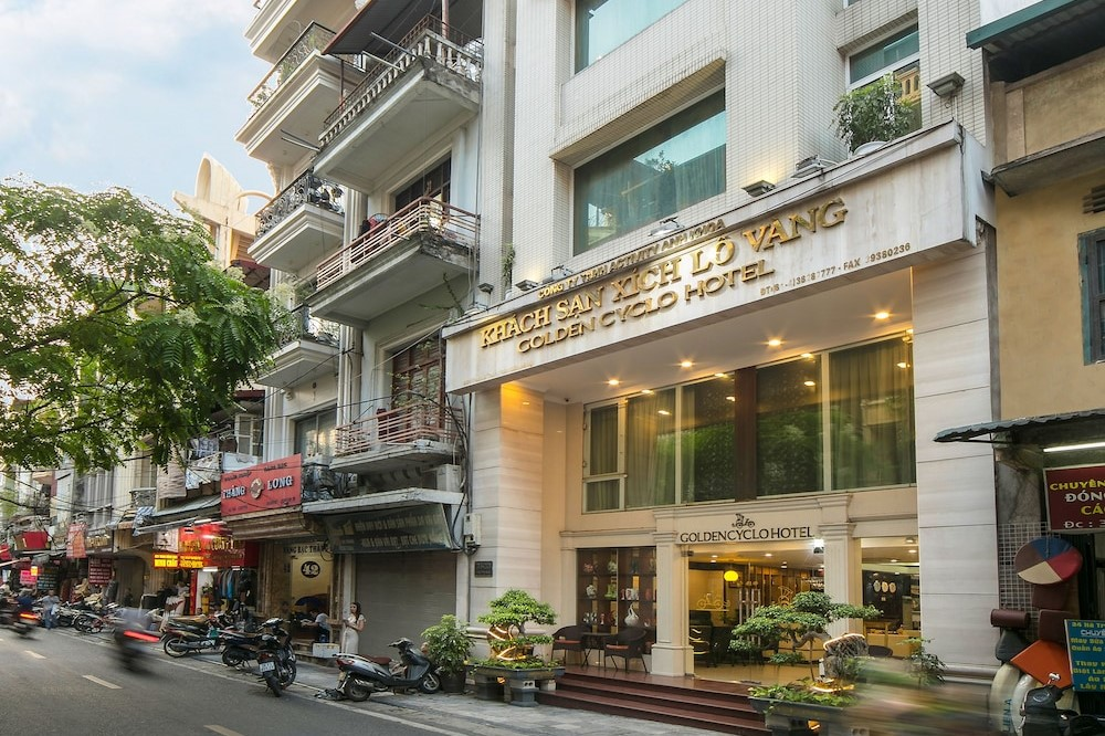 Golden Cyclo Hotel in Hanoi