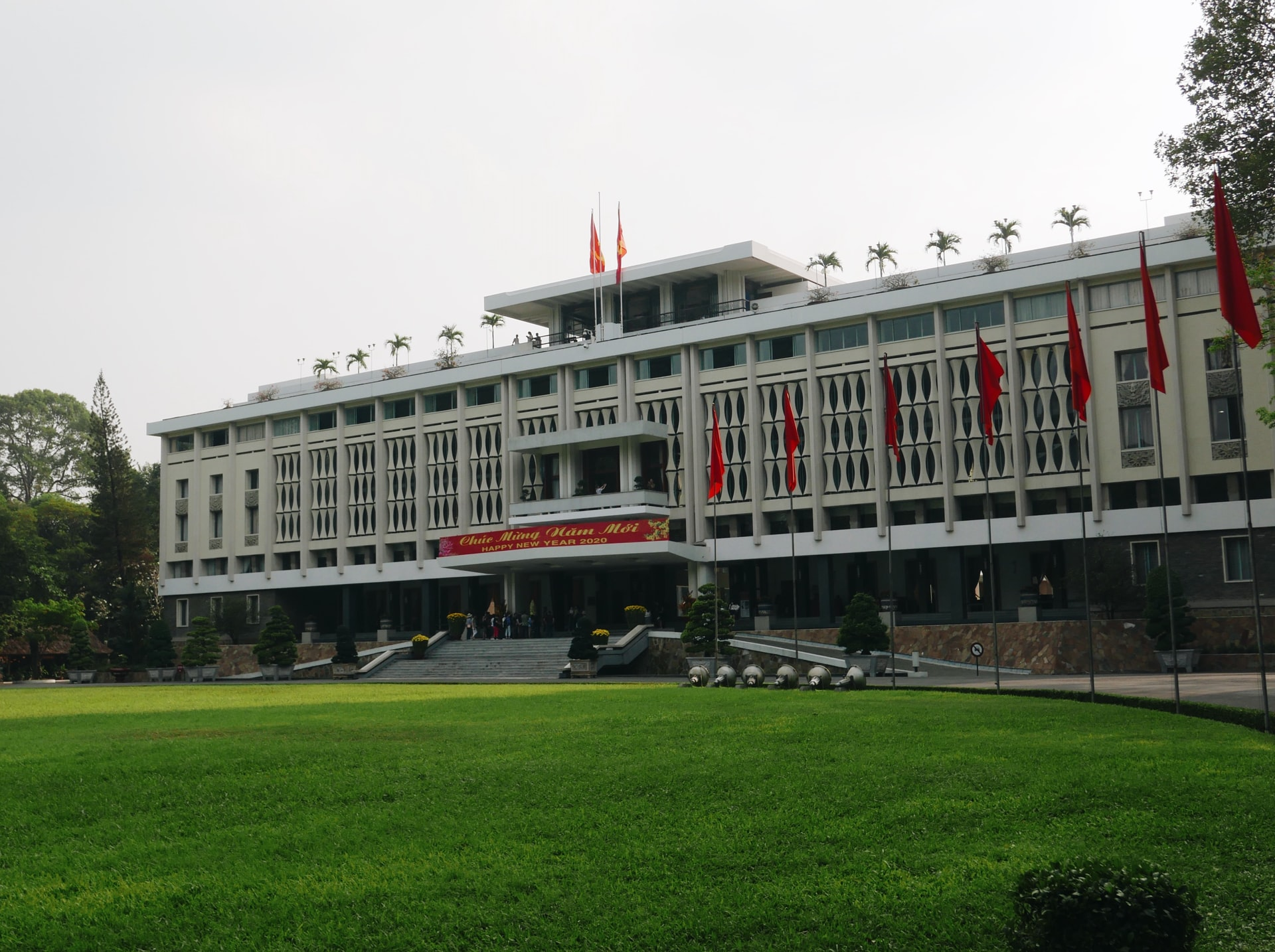 Independence Palace (Reunification Palace) in Ho Chi Minh City