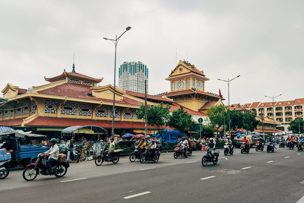 People riding motorbike during day time in Saigon