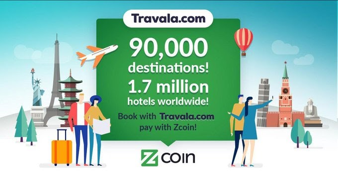 Book hotels on Travala and pay with Zcoin